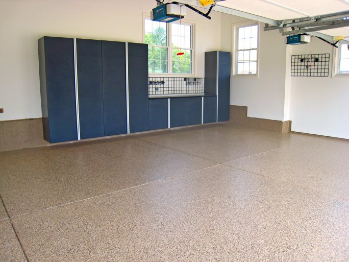 Garage Floor Coating: High-End Polyurea